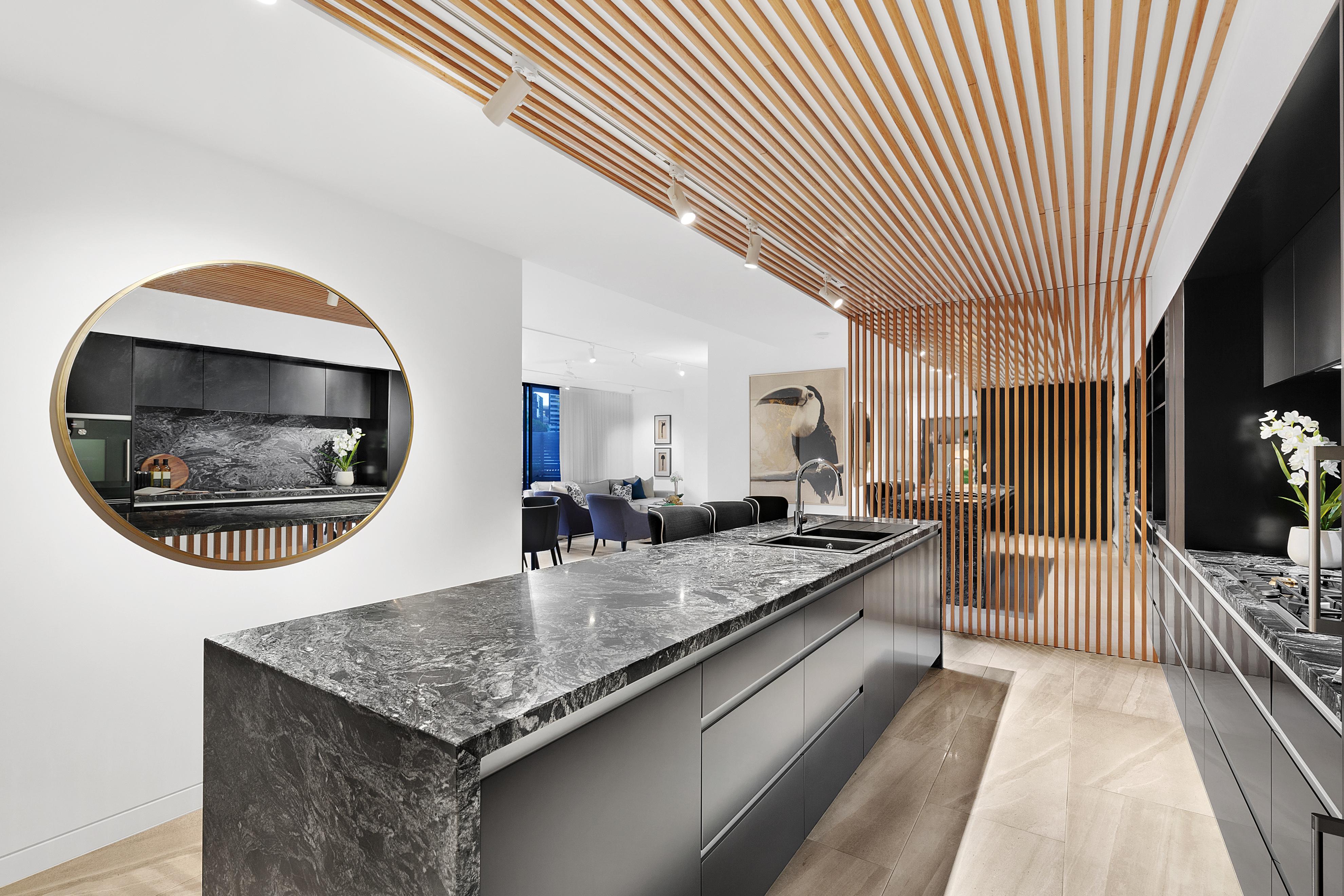 Beautiful large kitchen in Parklane Kangaroo Point